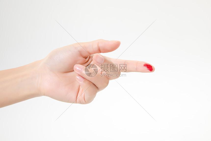 手指流血图片