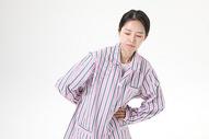病人患者腰疼图片