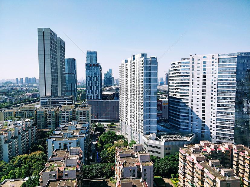 广州琶洲的高楼大厦图片