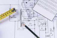 工程图纸绘制图片
