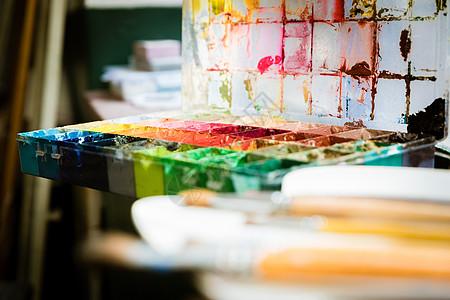 油画绘画调料图片