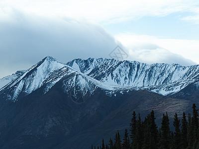 美国阿拉斯加雪山山脉图片