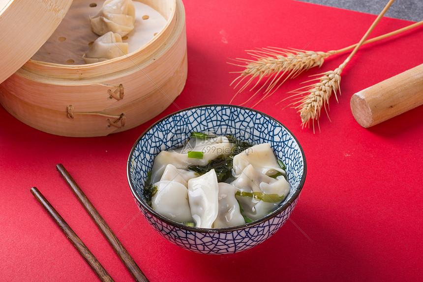 吃饺子图片