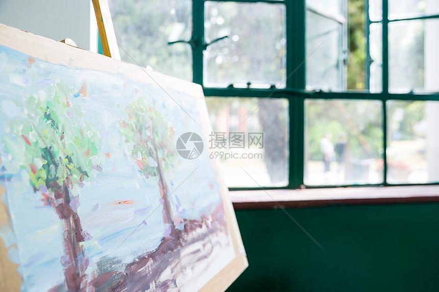 油画作品图片