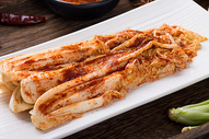 美食辣白菜图片