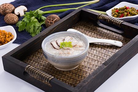 香菇瘦肉粥图片