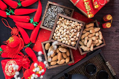 春节喜庆年货图片