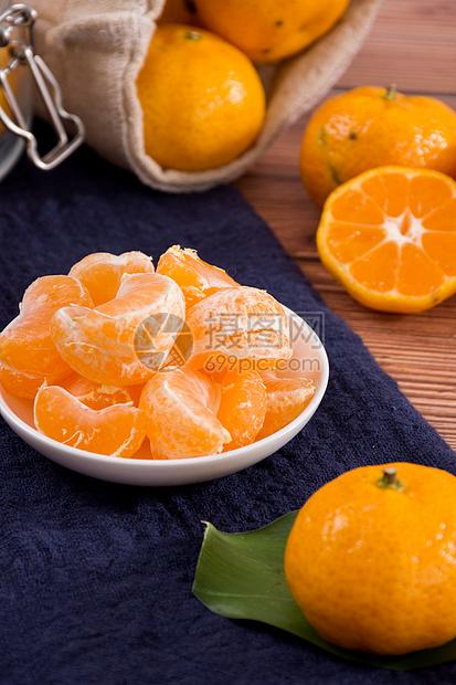 新鲜水果蜜桔图片