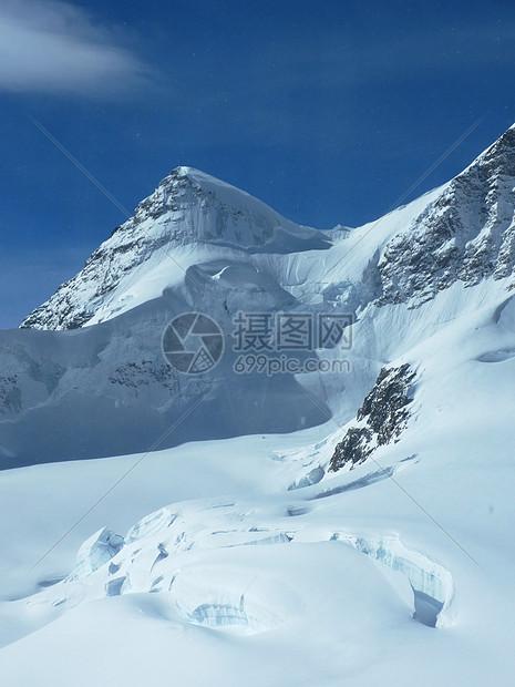 瑞士少女峰四季冰封图片