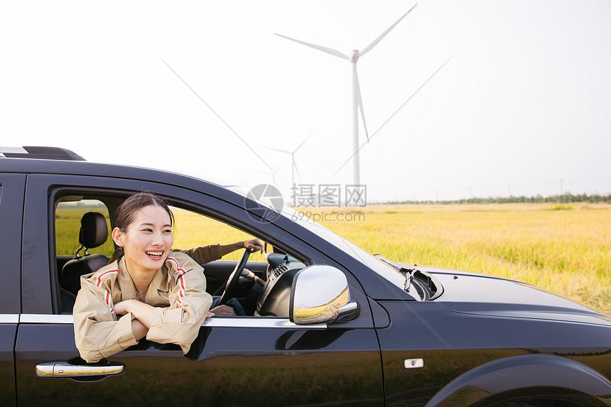 情侣人车生活出行图片