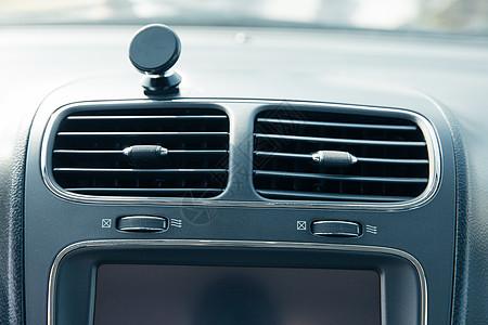 汽车内部构造空调出风口图片