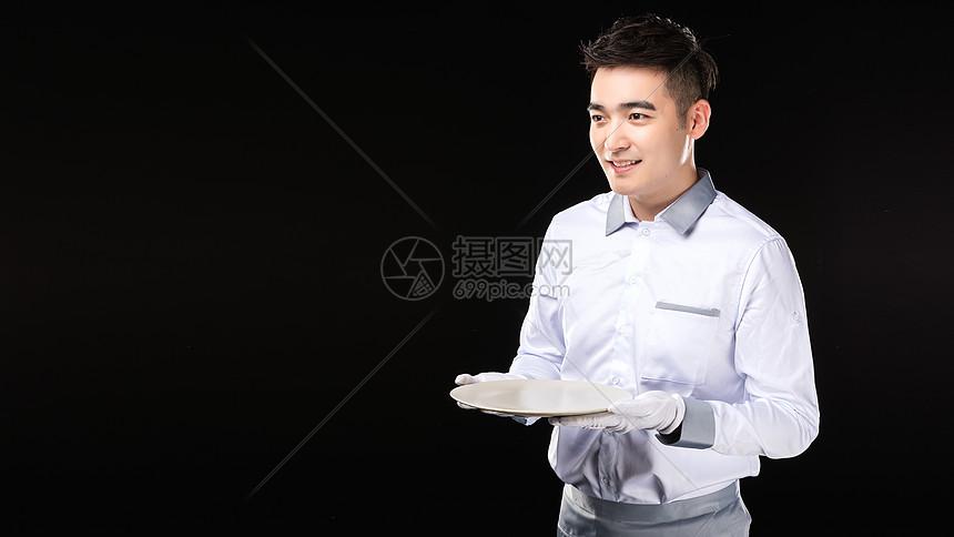 男服务生热情服务图片