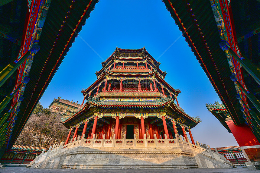 颐和园佛香阁图片
