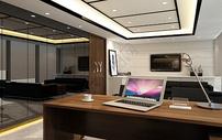 现代经理办公室图片
