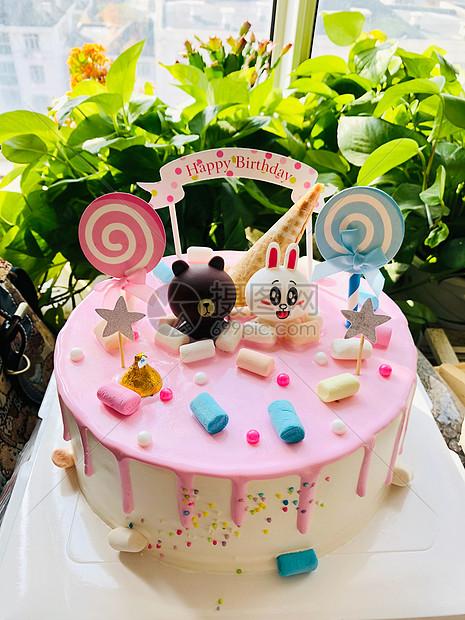 温馨的生日蛋糕图片