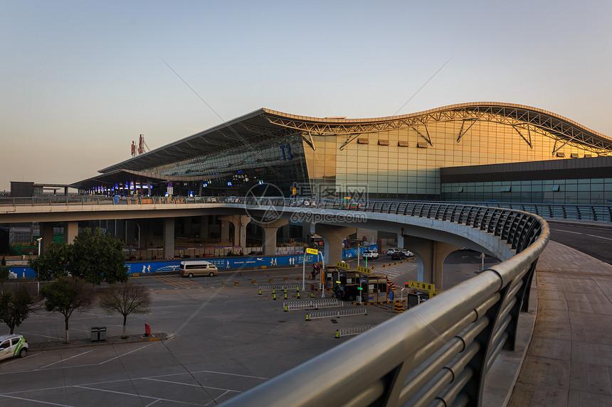 西安机场图片