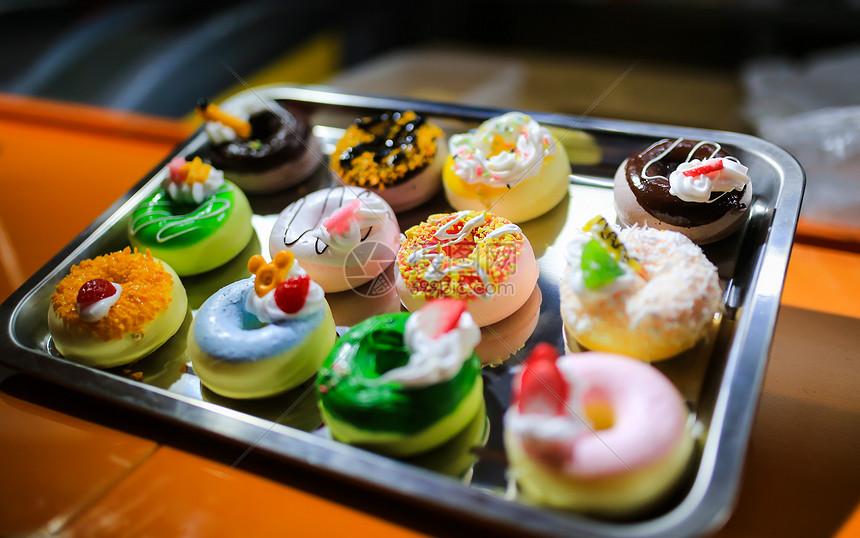 福州三坊七巷美食街甜甜圈图片