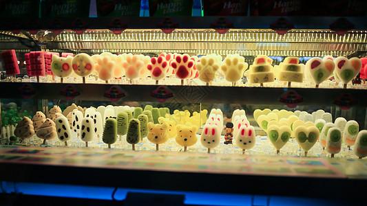 福州三坊七巷美食街雪糕图片