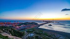 上海洋山深水港自然风光图片