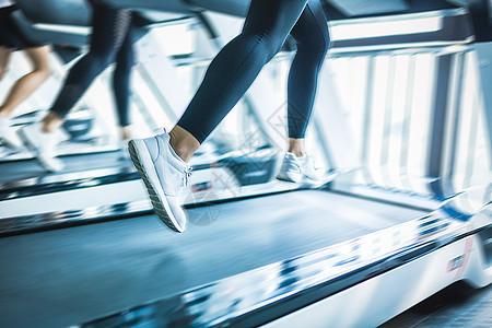 跑步机跑步健身图片