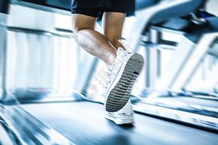 健身房跑步图片