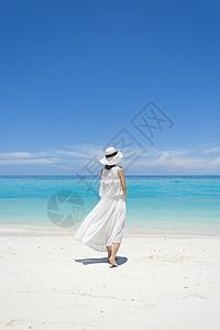 马来西亚沙巴环滩岛海滩女神图片