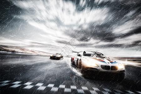 赛车比赛图片