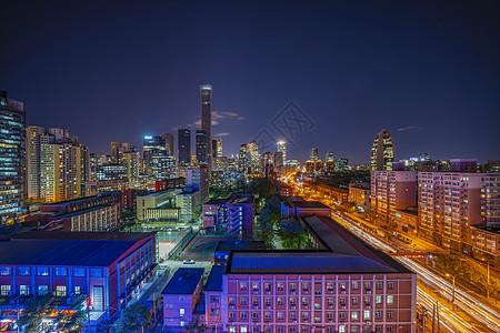 美丽夜色北京国贸图片