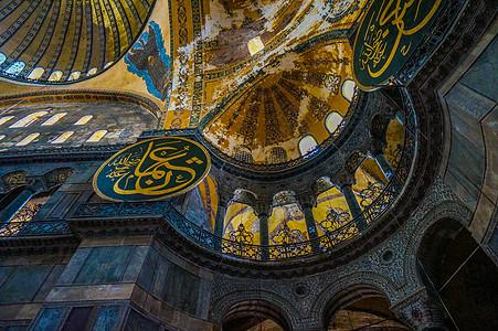土耳其伊斯坦布尔圣索菲亚教堂图片