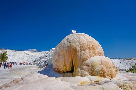 土耳其棉花堡图片