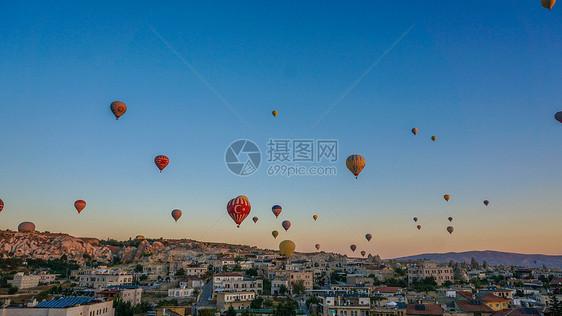 土耳其卡帕多西亚热气球图片