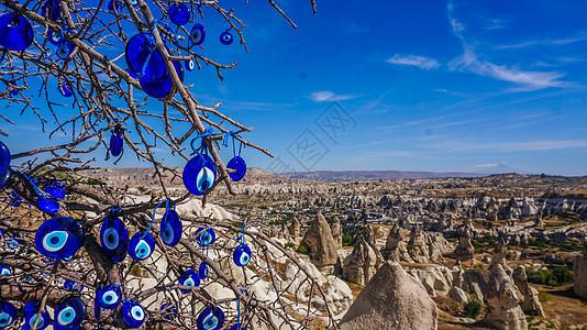 土耳其卡帕多西亚峡谷图片