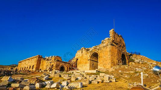 土耳其赫拉波利斯和帕穆克卡莱图片