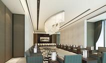 现代大型会议室图片