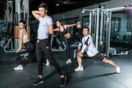 健身房团队热身运动501103107图片