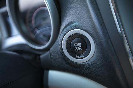 汽车启动按钮图片