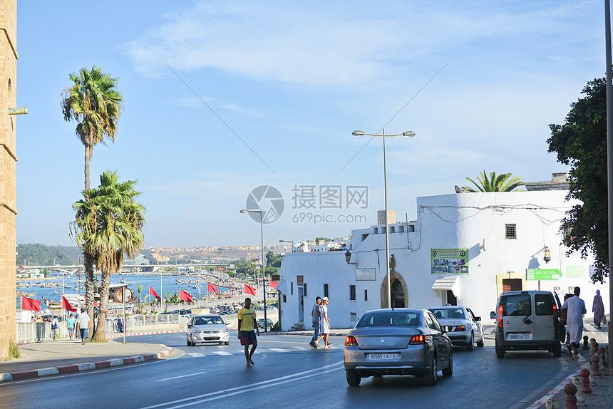 摩洛哥拉巴特老城图片