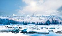 冬季场景 图片