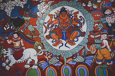 云南纳西族东巴文化少数民族文化图腾图片