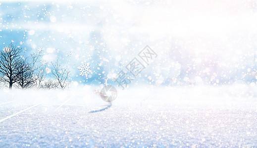 冬季下雪图片