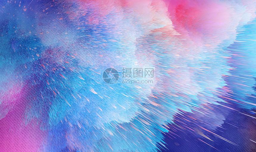 色彩烟雾图片