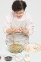 冬至老奶奶包饺子501107156图片