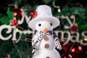 圣诞节雪人图片