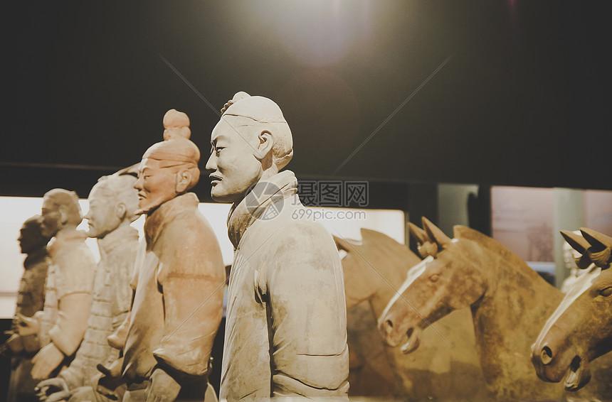 秦始皇兵马俑图片
