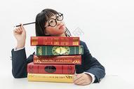 初中女生学习形象501107645图片