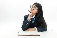 初中女生学习形象501107658图片