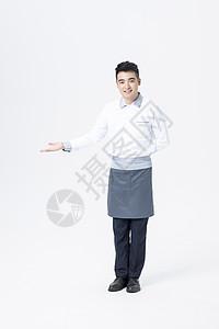 男性服务员图片