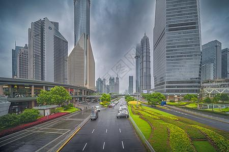 上海世纪大道图片