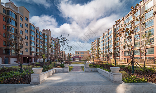 多层建筑宜居社区图片