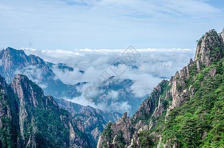 安徽黄山云海图片